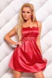Elegant kjole i rød