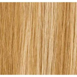 Mørkblond mix hair extensions 50 cm