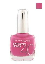 MAYBELLINE EXPRESS FINISH - Neglelak 222 Fuchsia Fun