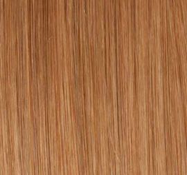 Hair extensions Clip on, 50 cm, #27 Mellem blond