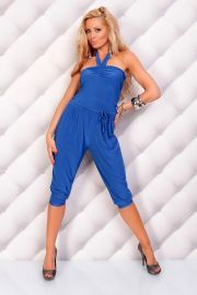 Smart blå buksedragt M/L
