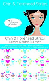 Chin and forehead strips