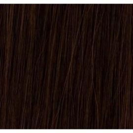 50 cm luksus hair extensions 100 gram  #2 mørkebrun