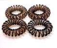 Brune spiral elastikker