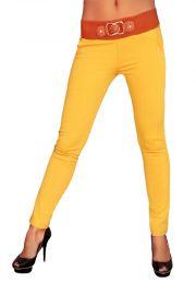 Karrygule bukser, str. M/L