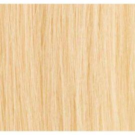 50 cm luksus hair extensions farve #60 platinblond