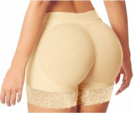 Butt lifter shorts hudfarvet