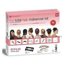 The total hair makeover kit