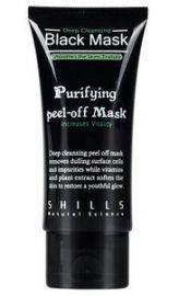 Sort ansigtsmaske mod hudorme og urenheder