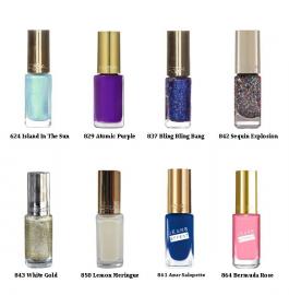 Farverige L'oréal neglelakker